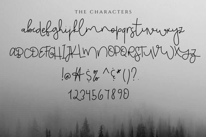 monday-blues-chic-handwritten-script