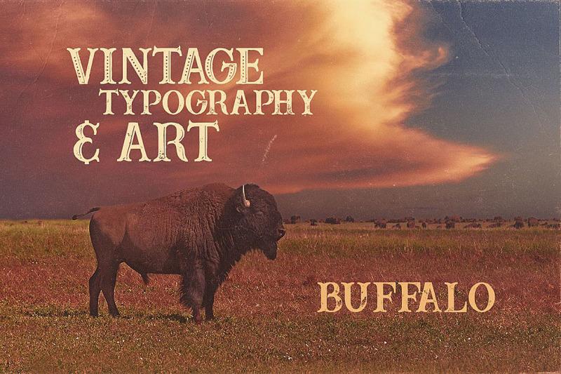 buffalo-typeface
