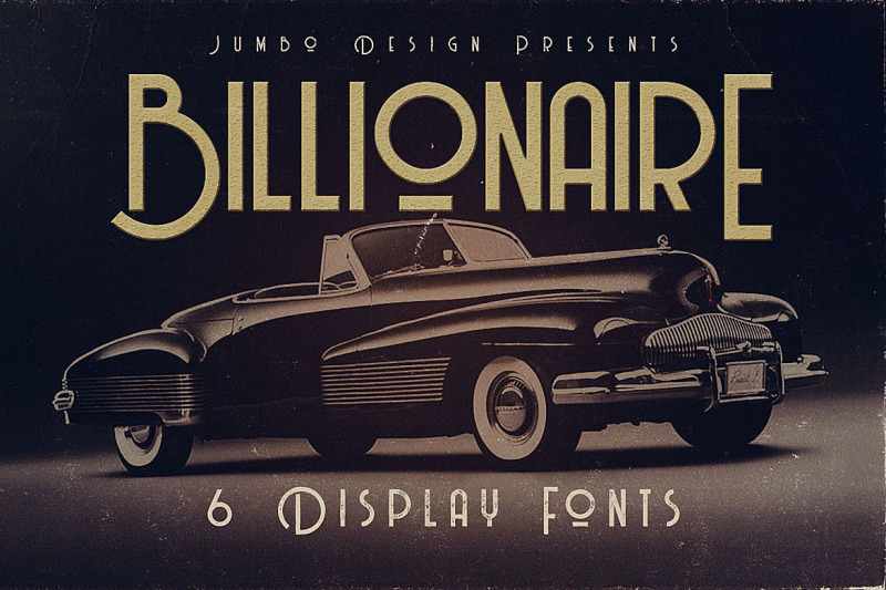 billionaire-display-font
