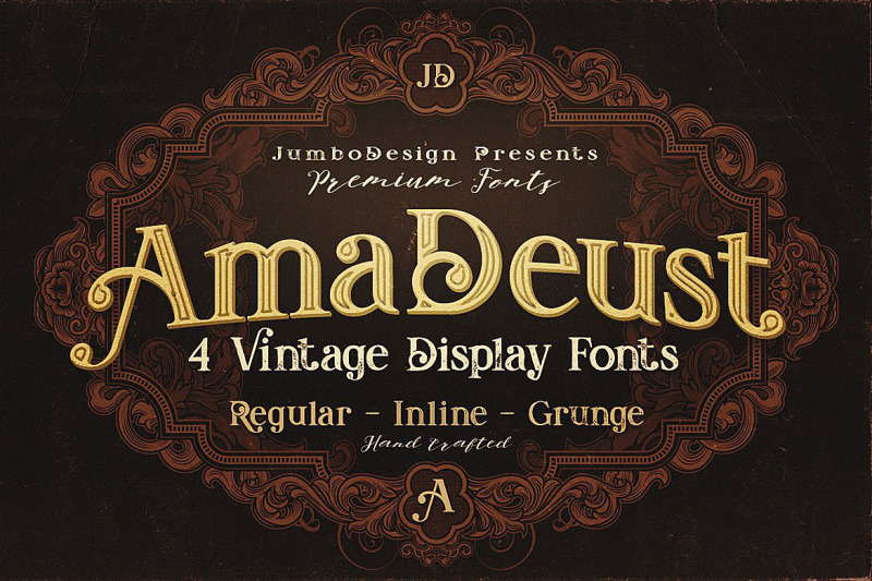 amadeust-display-font