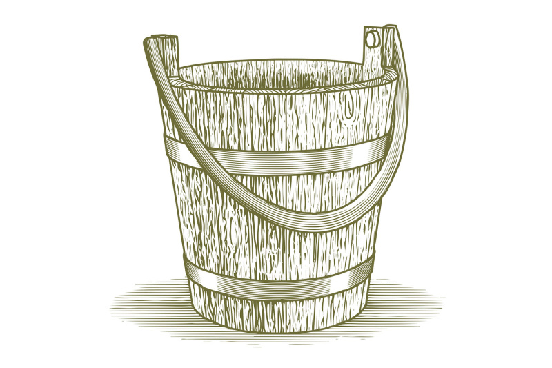woodcut-wooden-farm-bucket