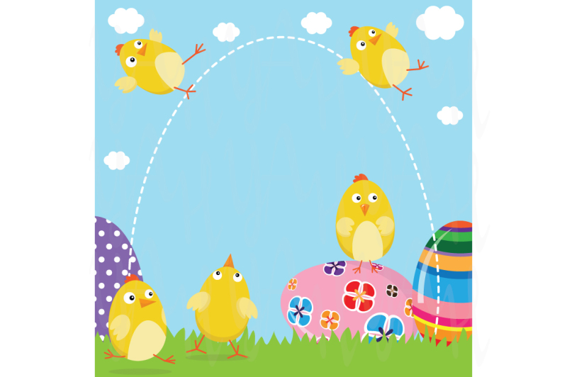 happy-easter-chicks