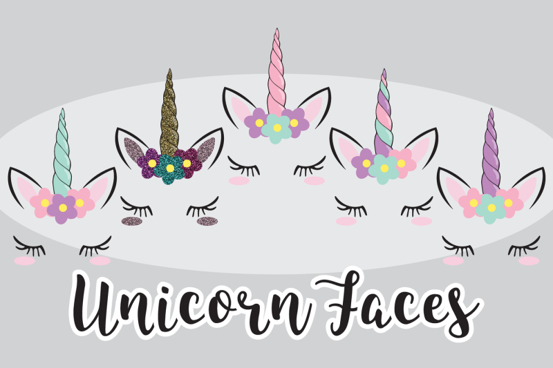unicorn-faces