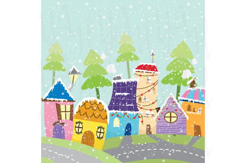 colorful-christmas-city