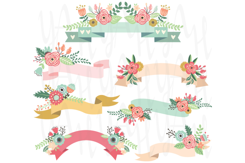 wedding-floral-banners