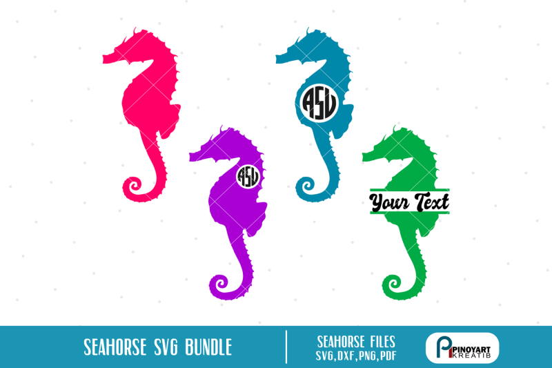seahorse-svg-seahorse-svg-file-seahorse-dxf-file-seahorse-monogram