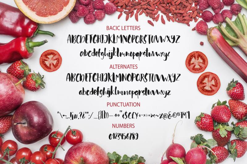 red-tomato-script-font