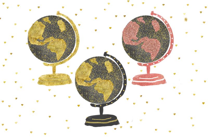watercolor-globes-globe-clip-art-chalkboard-globes-clip-art-planet