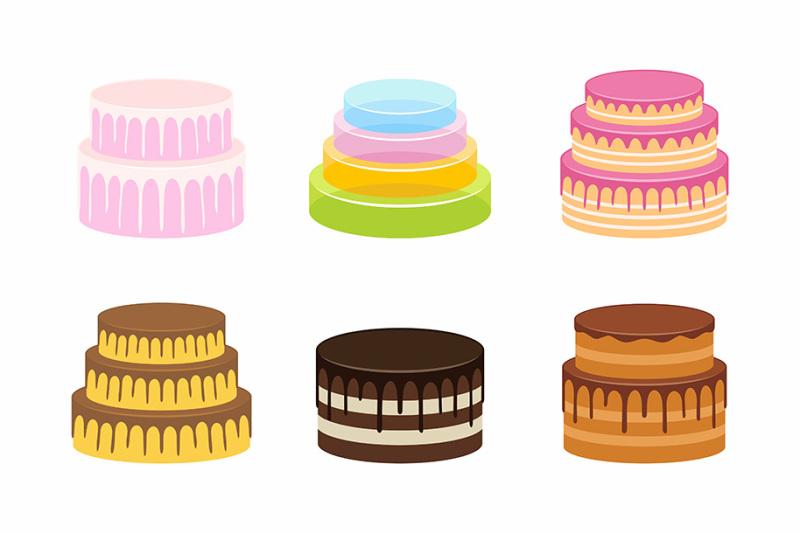 cakes-set