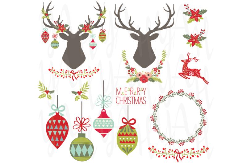 christmas-elements-set