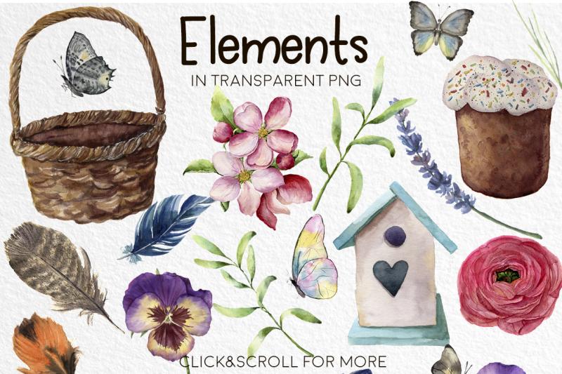 happy-easter-watercolor-bundle