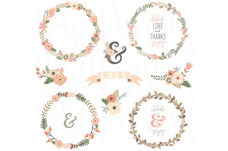 vintage-floral-wreath-collection