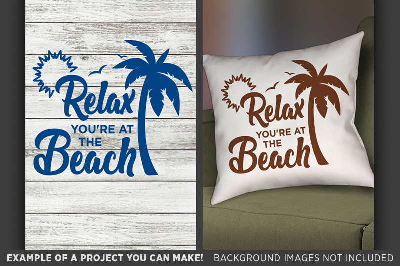 relax-you-re-at-the-beach-svg-beach-decor-beach-sign-svg-680