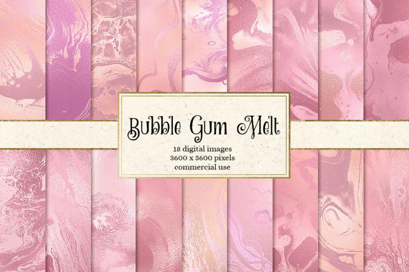 bubble-gum-melt-textures