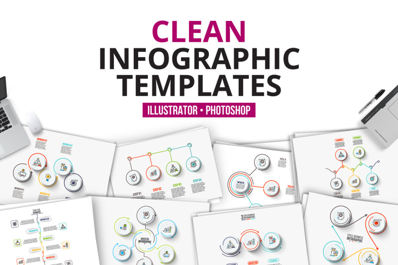 clean-infographic-templates