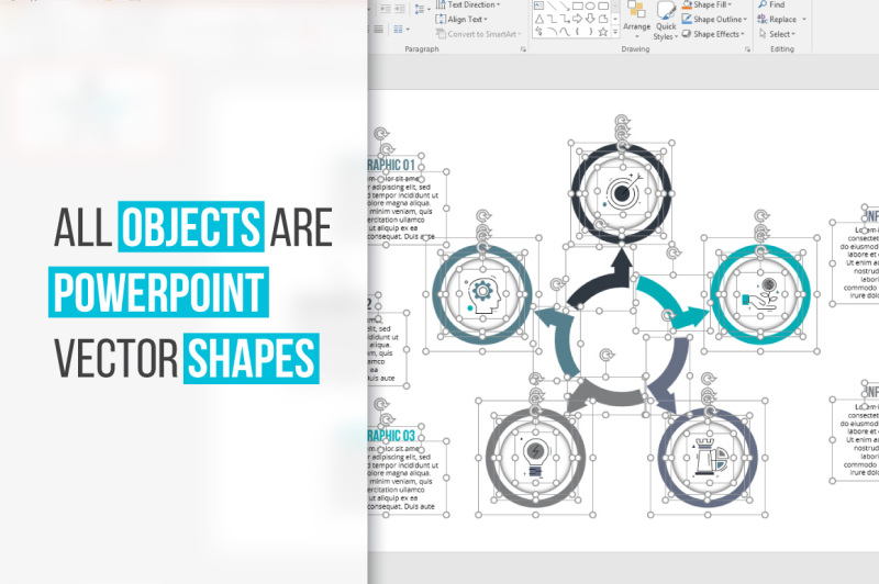 cycle-powerpoints-infographics
