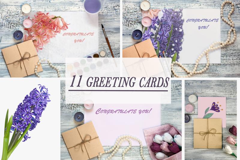 Free Greeting Card Mock Ups (PSD Mockups)
