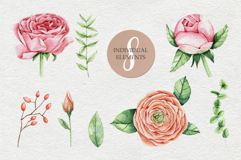 watercolor-spring-bloom