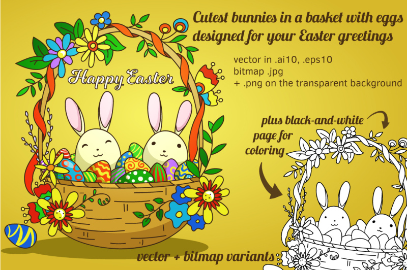 woven-easter-basket-with-eggs-and-cutest-bunnies