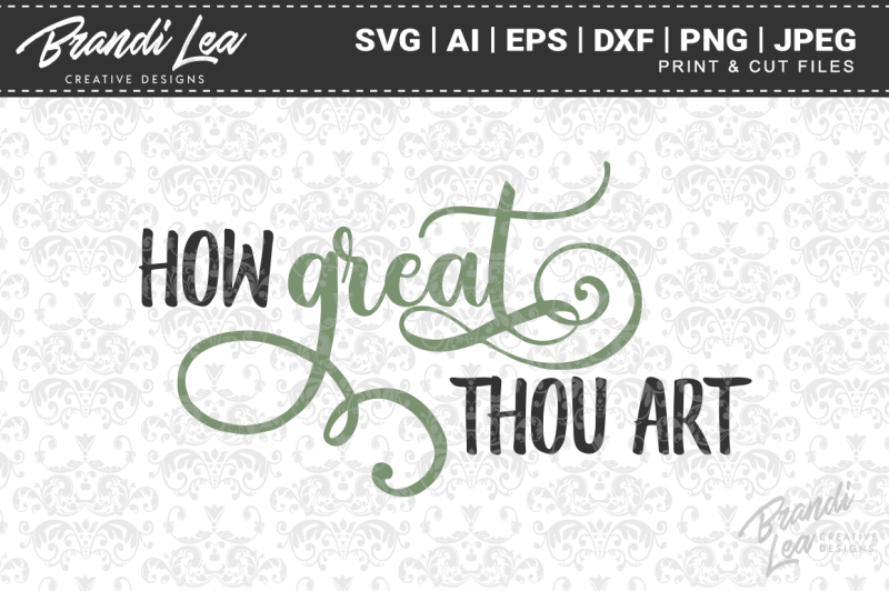 how-great-thou-art-svg-cutting-files
