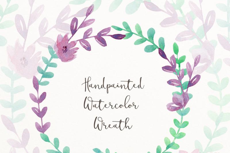 watercolor-wreath