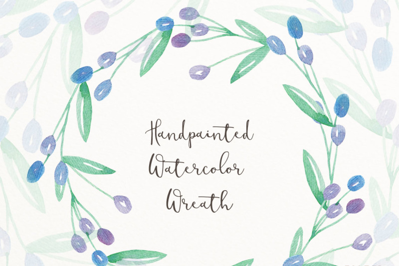 hand-painted-watercolor-wreath