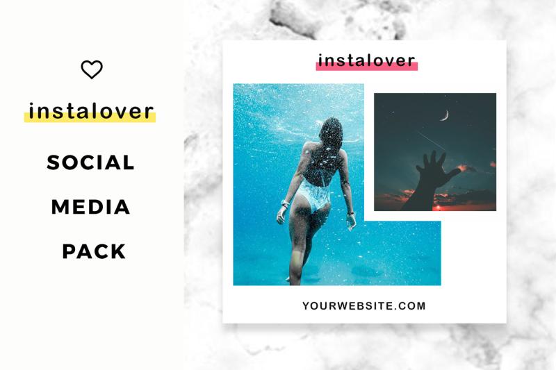 instalover-instagram-social-media-pack