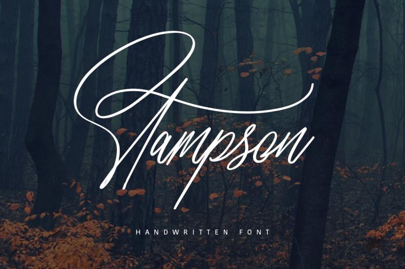 stampson-signature-font