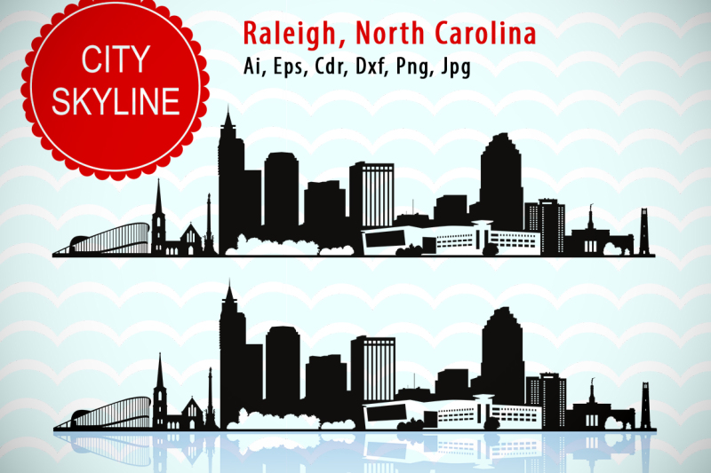 raleigh-city-north-carolina-svg