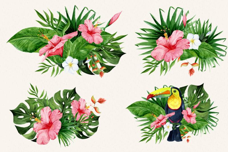 pura-vida-watercolor-clipart
