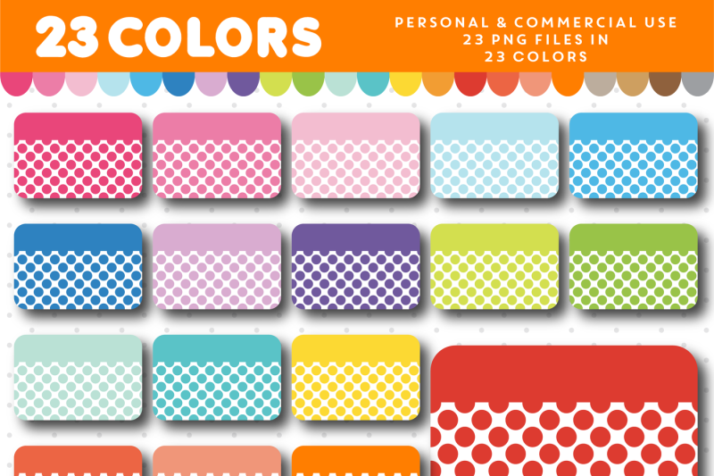 half-planner-box-clipart-with-big-polka-dots-cl-1576
