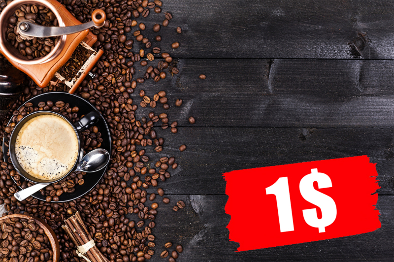 cup-of-coffee-mill-and-coffee-beans-on-black-wooden-table-top