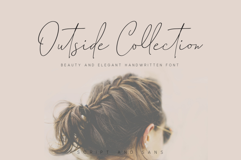 outside-collection-signature-font