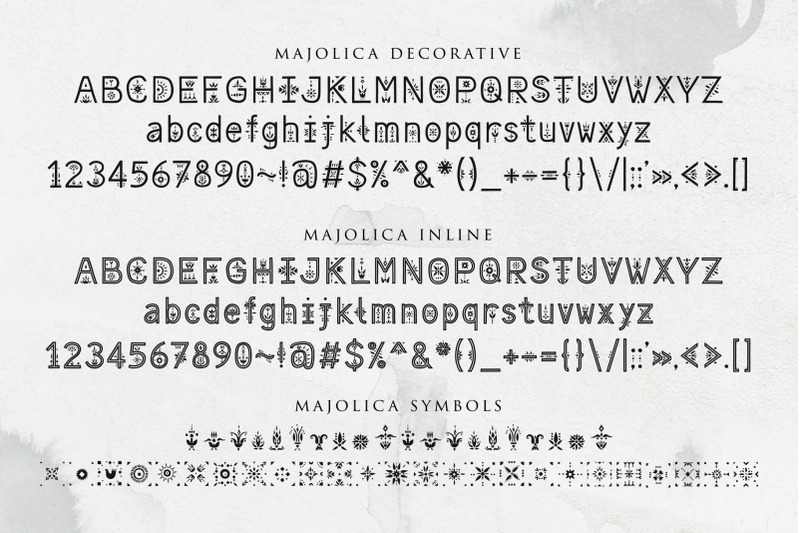 majolica-font-family