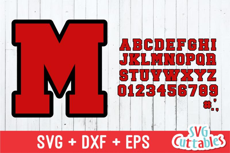 outlined-sport-alphabet-set
