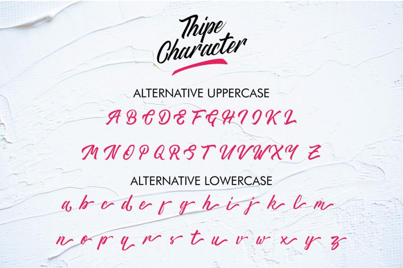 thipe-typeface