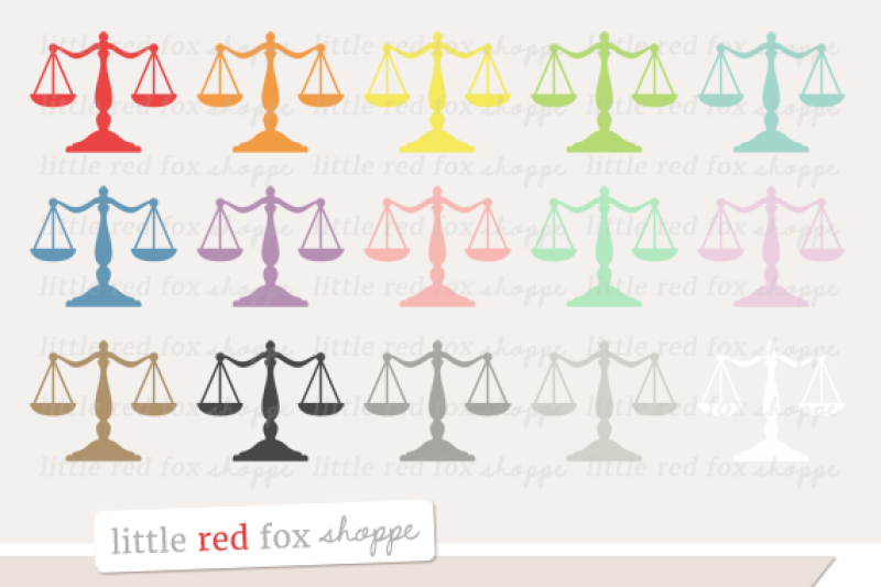 law-scales-clipart