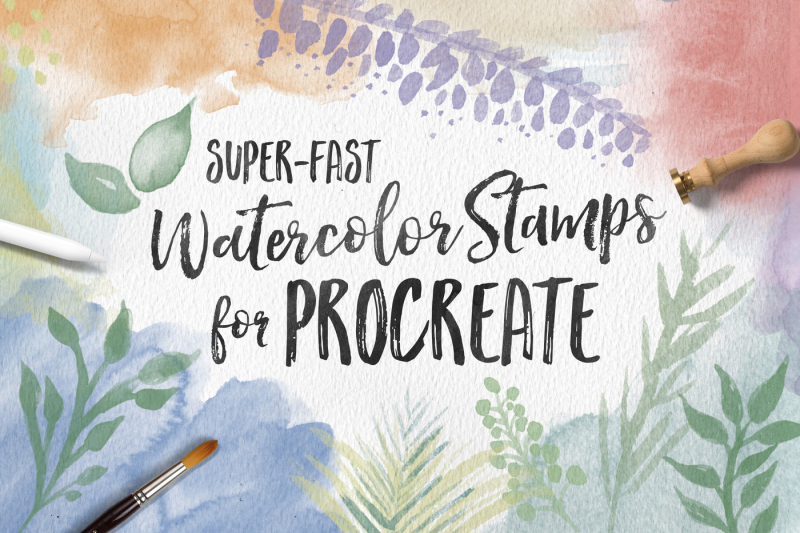 watercolor-stamps-for-procreate