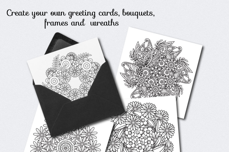 floral-doodles-collection