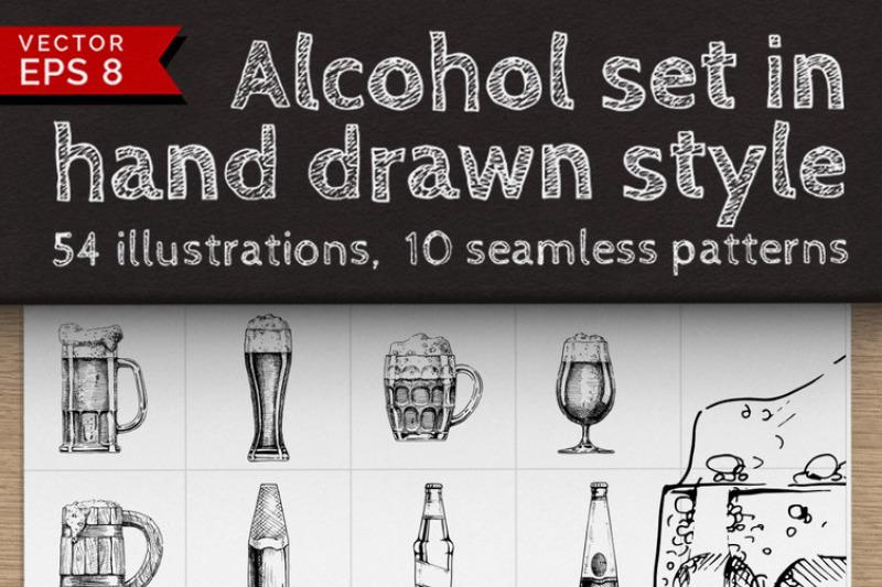 huge-alcohol-vintage-set