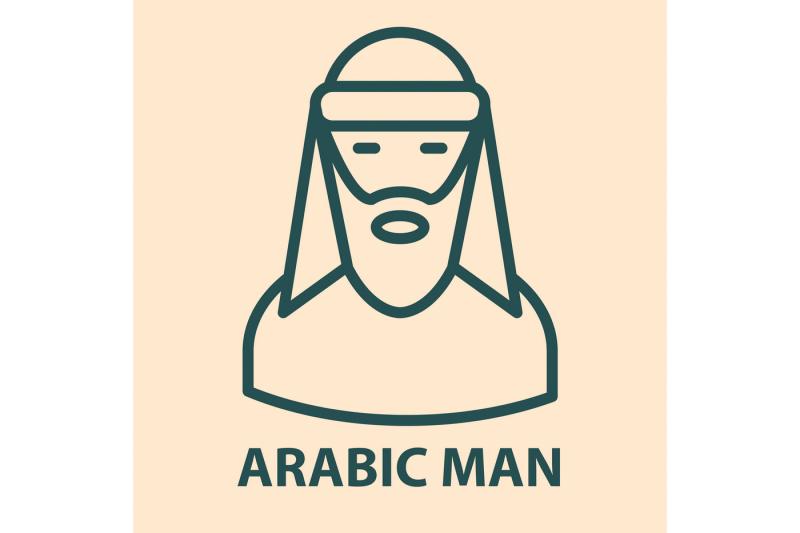 arabian-line-icon-set