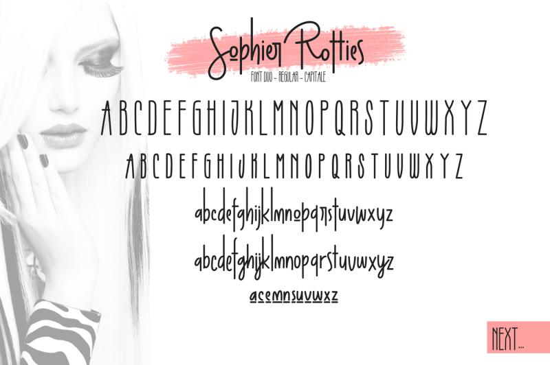 sophier-rotties-font-duo