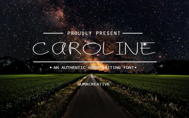 caroline-font