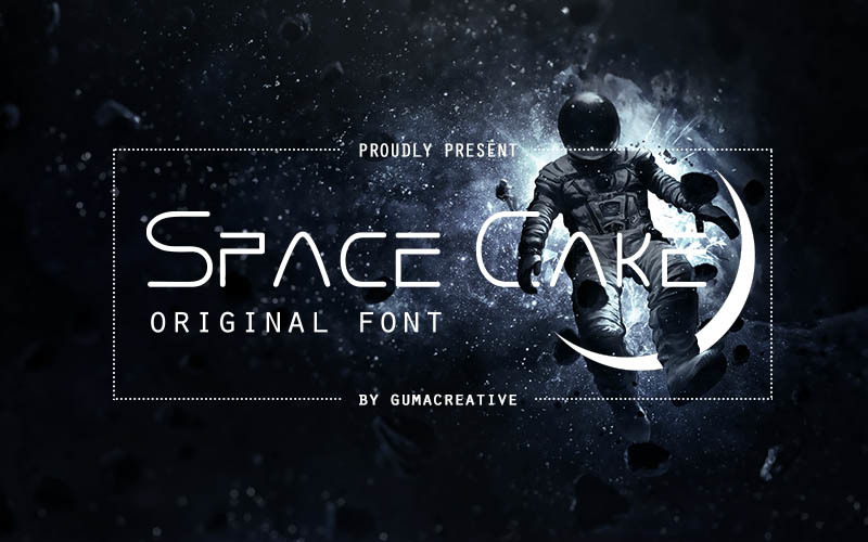 space-cake-font