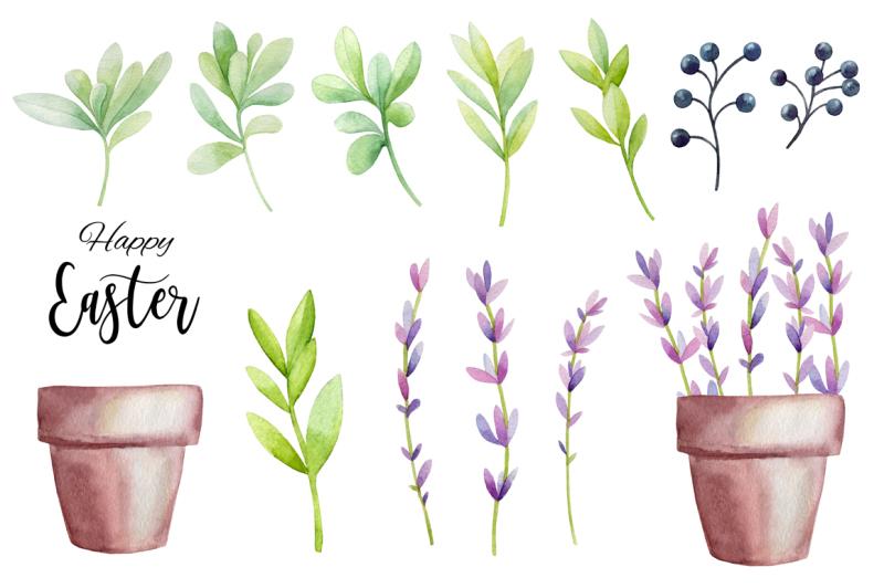 happy-easter-watercolor-set