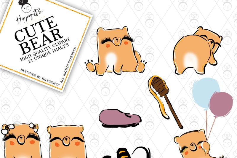 bear-clipart-animal-clipart-whisical-clipart