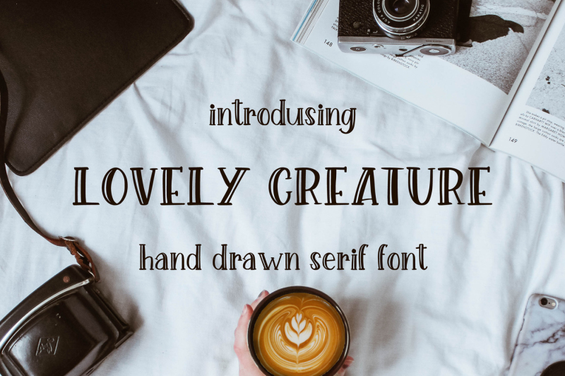 lovely-creature-cute-serif-font