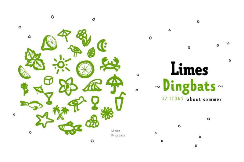 limes-handmade-fontfamily