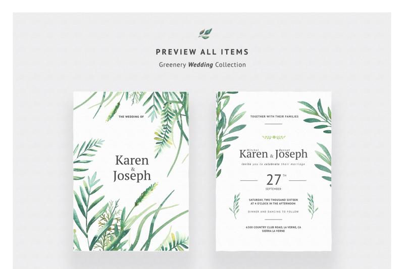 greenery-wedding-collection