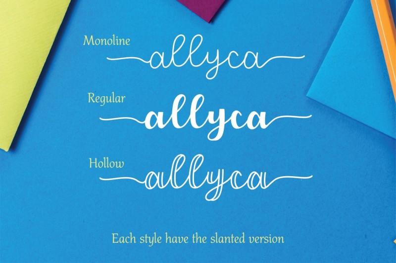 allyca-font-family